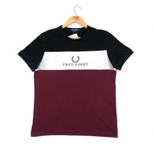 vintage_fred_perry_embroidered_spell_out_logo_branded_tshirt_a0092