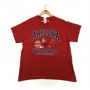 vintage_usa_nfl_spell_out_arizona_wildcats_tshirt_red_a0119