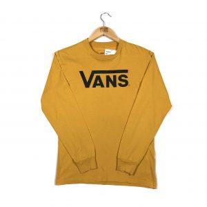 vintage_vans_branded_long_sleeve_tshirt_yellow_a0109