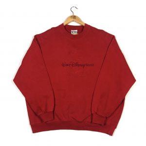 vintage_walt_disney_embossed_sweatshirt_jumper_red_d0004