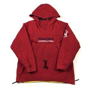 vintage_nautica_waterproof_padded_red_jacket_j0012