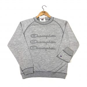 vintage_grey_champion_spell_out_printed_sweatshirt_s0073