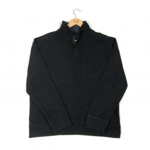 vintage_nautica_black_quarter_zip_sweatshirt_s0139