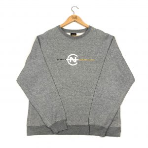vintage_nautica_embroidered_spell_out_grey_sweatshirt_s0161