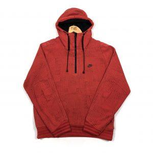 vintage_nike_red_quarter_zip_hoodie_h0043