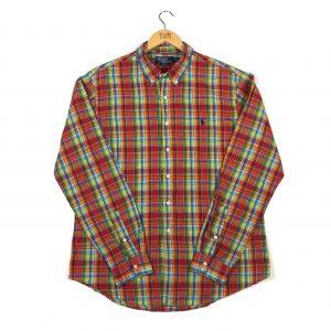 vintage_polo_ralph_lauren_multicoloured_madras_check_casual_shirt_sh0015
