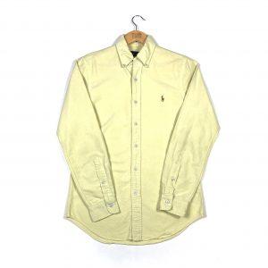 vintage_ralph_lauren_yellow_oxford_shirt_sh0021