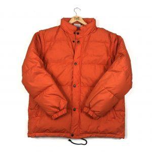vintage_sergio_tacchini_orange_puffer_coat_jacket_J0027