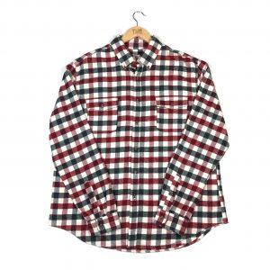 vintage_check_red_casual_shirt_sh0002