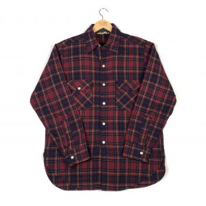 vintage_woolrich_thick_flannel_check_shirt_sh0006