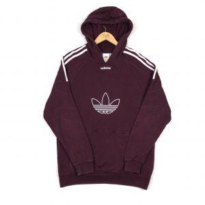 vintage_adidas_originals_3_stripes_burgundy_centre_logo_hoodie_h0075