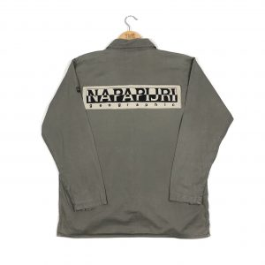 vintage_napapijri_spell_out_embroidered_grey_shirt_sh0026