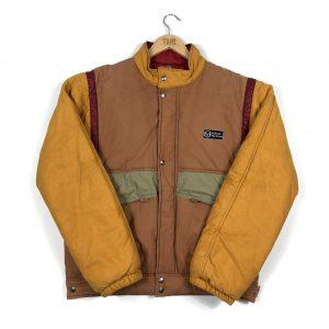 vintage_sergio_tacchini_beige_yellow_padded_jacket_j0061