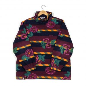 vintage_fila_burgundy_floral_mock_high_neck_fleece_sweatshirt_fl0021