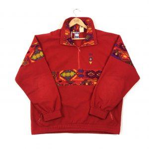 vintage_lotto_red_quarter_zip_fleece_fl0028