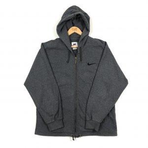 vintage_90s_nike_zip_up_essential_swoosh_grey_hoodie_h0106