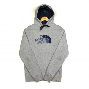 vintage_the_north_face_grey_embroidered_spell_out_hoodie_small_h0127