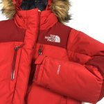 vintage_womens_large_north_face_tnf_hyvent_red_fur_hood_down_puffer_jacket_j0114