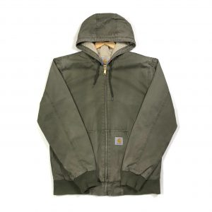 vintage_carhartt_khaki_essential_hooded_jacket_medium_j0166