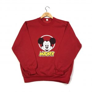 vintage_disney_mickey_mouse_red_sweatshirt_small_d0030