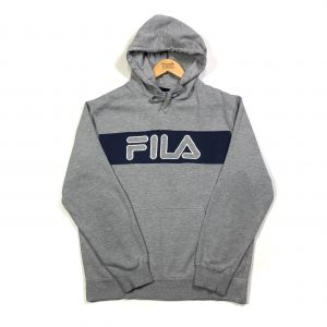 vintage_fila_grey_embroidered_spell_out_hoodie_medium_h0177