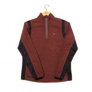 vintage_nike_swoosh_essential_brown_quarter_zip_fleece_fl0052