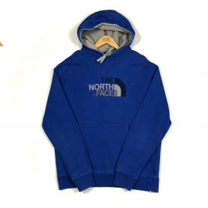 vintage_the_north_face_tnf_blue_embroidered_hoodie_h0136
