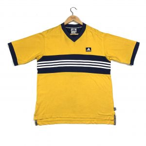 vintage_adidas_yellow_essntial_3_stripes_t_shirt_a0208