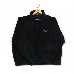 vintage_ralph_lauren_polo_sport_black_essential_quarter_zip_fleece_fl0074