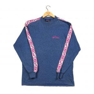 vintage_asics_blue_essential_tape_logo_sweatshirt_s0559