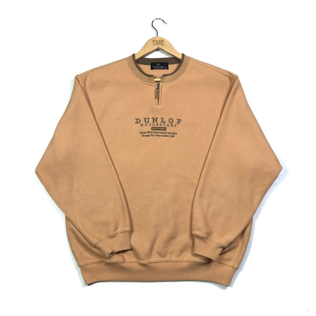 vintage_dunlop_orange_embroidered_quarter_zip_sweatshirt_s0568