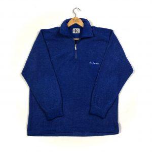 vintage_calvin_klein_blue_essential_quarter_zip_fleece_fl0103