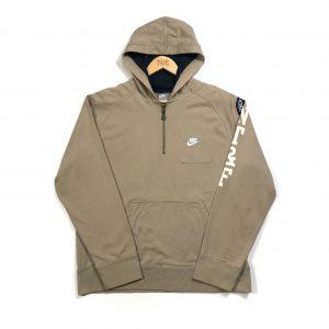 vintage_nike_beige_quarter_zip_hoodie
