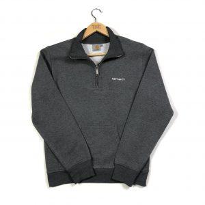 vintage_carhartt_grey_essential_quarter_zip_sweatshirt_s0625