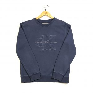 vintage_calvin_klein_blue_embroidered_spell_out_sweatshirt_s0658