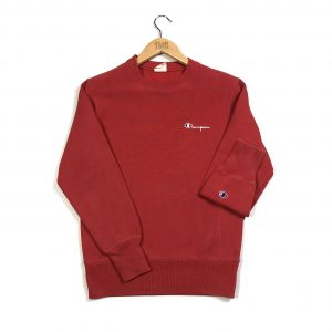 vintage_champion_embroidered_essential_reverse_weave_red_sweatshirt_s0666