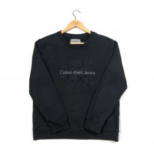 vintage_calvin_klein_black_embroidered_spell_out_logo_sweatshirt_small_s0700