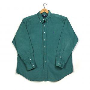 vintage_ralph_lauren_green_essential_courdory_blake_shirt_sh0035