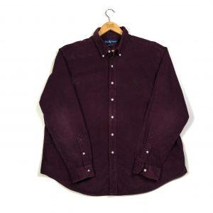 vintage_ralph_lauren_burgundy_essential_courdory_blake_shirt_sh0036
