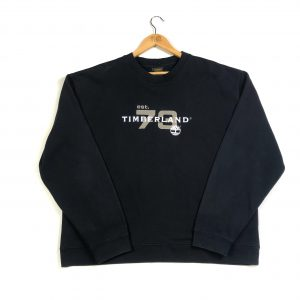 vintage_timberland_spell_out_oversized_black_sweatshirt