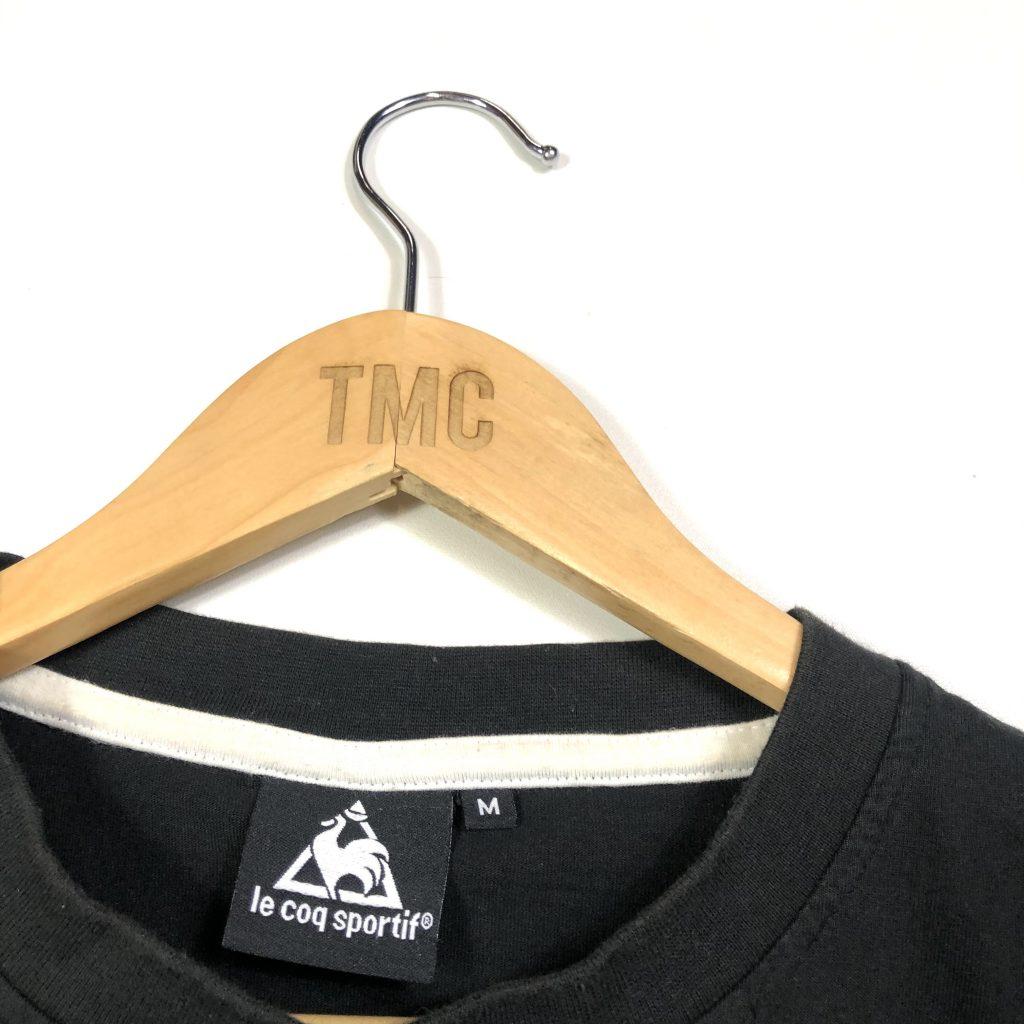 vintage_le_coq_sportif_essential_black_t_shirt