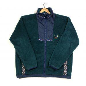 vintage_helly_hansen_green_zip_up_fleece