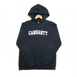 vintage_carhartt_navy_spell_out_hoodie