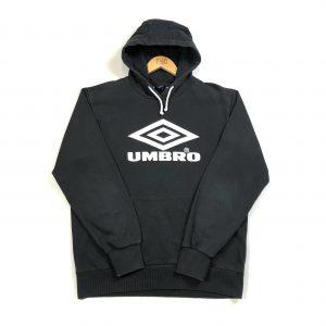 vintage_umbro_printed_spell_out_black_hoodie
