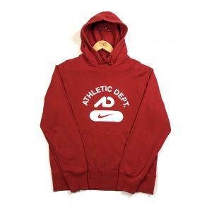 vintage_nike_red_centre_swoosh_hoodie