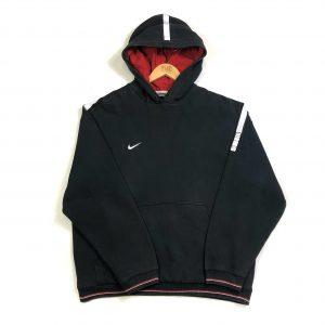 vintage_nike_essential_swoosh_logo_black_hoodie