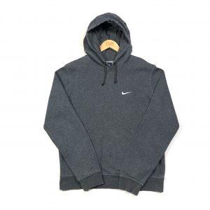 vintage_clothing_nike_essential_swoosh_grey_hoodie