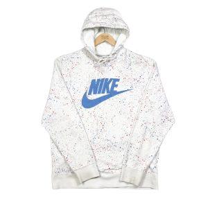 vintage_nike_spell_out_white_paint_splatter_hoodie