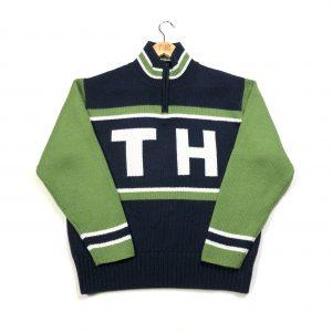 vintage_tommy_hilfiger_navy_quarter_zip_knit_jumper
