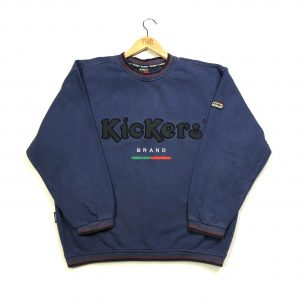 vintage_kickers_blue_embroidered_spell_out_logo_sweatshirt